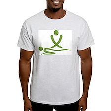 Green massage design T-Shirt