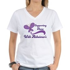 Alzheimers Support Butterfly Shirt