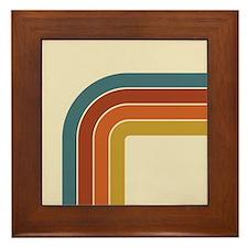 Retro Curve Framed Tile