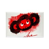 Che-Burashka Rectangle Magnet