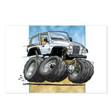 White Wrangler Postcards (Package of 8)