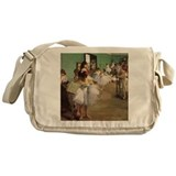 Edgar Degas Dancing Class Messenger Bag