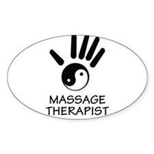 Yin-Yang Massage Hand Decal
