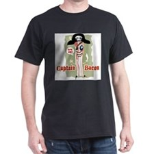 captain_bacon_back T-Shirt