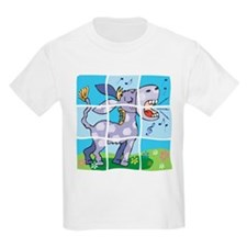 Singing Donkey Puzzle Pet Kids T-Shirt