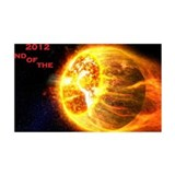 2012 End of the World Wall Decal