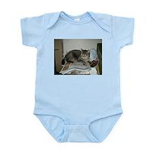 my cat tinker Infant Bodysuit