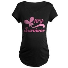 10 Year Survivor Breast Cancer T-Shirt