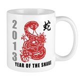 2013 Chinese New Year of The Snake Mug
