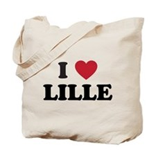 I Love Lille Tote Bag