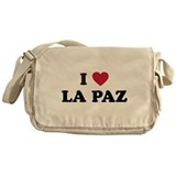 I Love La Paz Messenger Bag