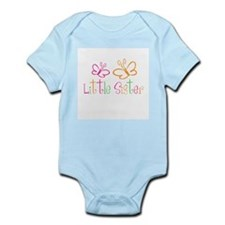 Little Sister Buttterfly Infant Bodysuit