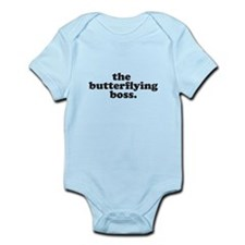 Butterflying boss onesie
