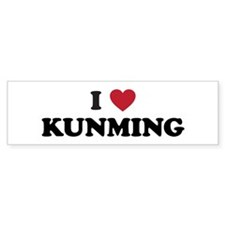 I Love Kunming Bumper Sticker