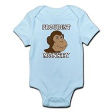 Proudest Monkey Infant Bodysuit