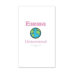 Your Name Emma 20x12 Wall Decal