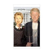 Hilary Clinton Nightmare Rectangle Decal