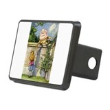 Alice&humpty.png Rectangular Hitch Cover