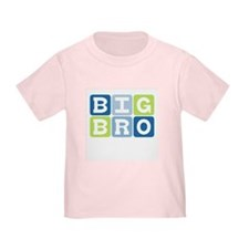 Funny Big bro brother baby kids family boy T
