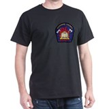 Beaumont Fire Department Black T-Shirt