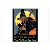 WITCH - WELL EAT 10x14.png 3.5 x 5 Flat Cards
