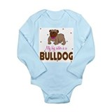 Unique Big little sister Long Sleeve Infant Bodysuit
