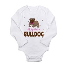 Cool Bulldog baby Long Sleeve Infant Bodysuit