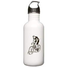 Retro Cyclist Water Bottle