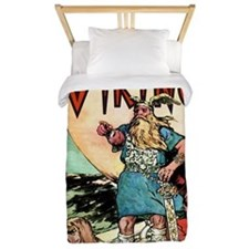 Vintage Viking Twin Duvet