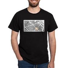 Barcelona Urban Grid: White T-Shirt
