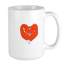 Foxes Mate for Life Mug