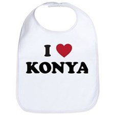 I Love Konya Bib