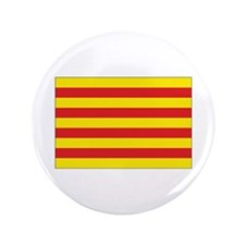 "Catalonia Flag 3.5"" Button"