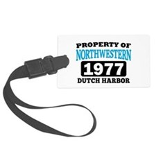 Northwestern Luggage Tag