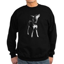 Miniature Pinscher Sketch Sweatshirt
