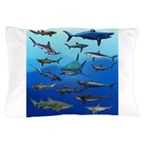 Shark Gathering Pillow Case