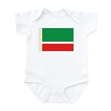 Chechnya Flag Infant Bodysuit