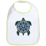 Native American Turtle 01 Bib