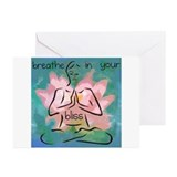 Breathe In Your Bliss Greeting Cards (Pk of 20)
