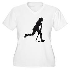 female hockey player T-Shirt