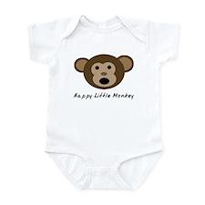 Happy Little Monkey Infant Bodysuit