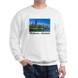Melbourne Skyline Painting Jumper