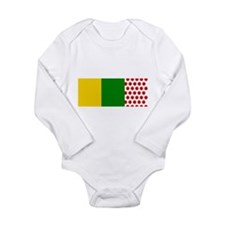 Funny Single speed bike Long Sleeve Infant Bodysuit
