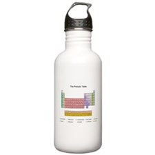 Colorful Periodic Table Water Bottle