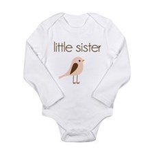 Cute Love birds Long Sleeve Infant Bodysuit