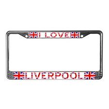 I LOVE LIVERPOOL License Plate Frame 2