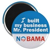 "I Built My Business Mr. President 2.25"" Magne"