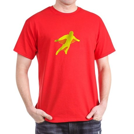 Wingsuit 2 (Yellow) Dark T-Shirt