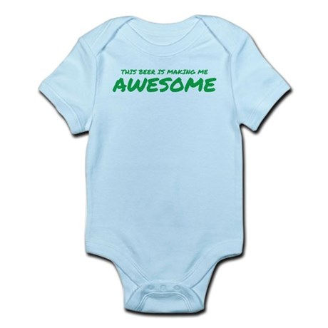 Beer Awesome Infant Bodysuit