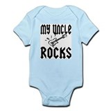 Cute Rockstar dad Infant Bodysuit